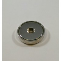A-42 Rare Earth Neodymium Round Base Magnet with Countersink Style Hole