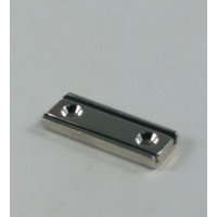 NCH-150 Neodymium Channel Magnet with countersunk mount holes