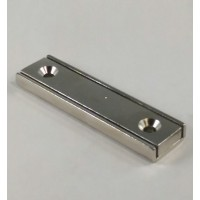 NCH-375 Neodymium Channel Magnet with countersunk mount holes